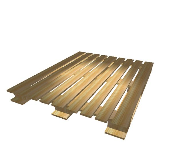 Pallet 100 x 120. Tipo CP1. Chemical Pallet